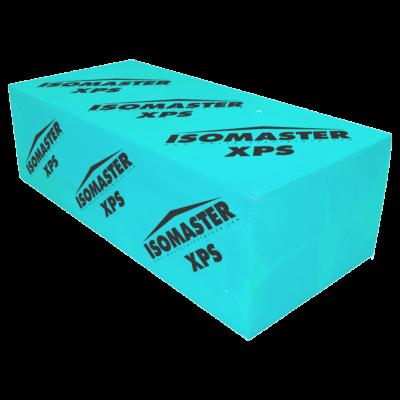 ISOMASTER XPS BT lábazati, sima felületű, lépcsős élképzésű szigetelő lemez -- 14 cm