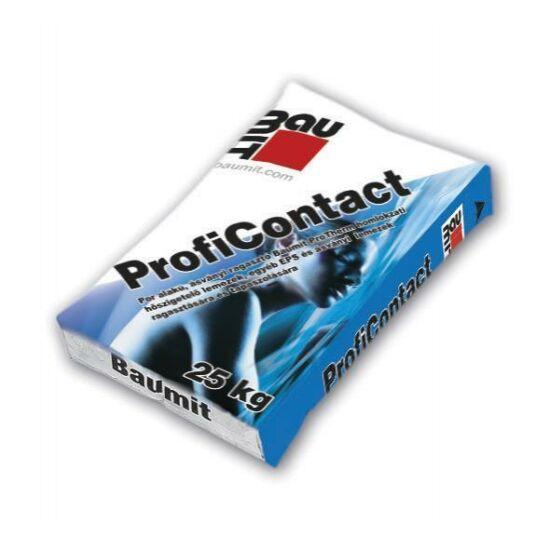 Baumit ProfiContact ragasztó homlokzati EPS és EPS Grafit Reflex ragasztáshoz - 25kg/zsák