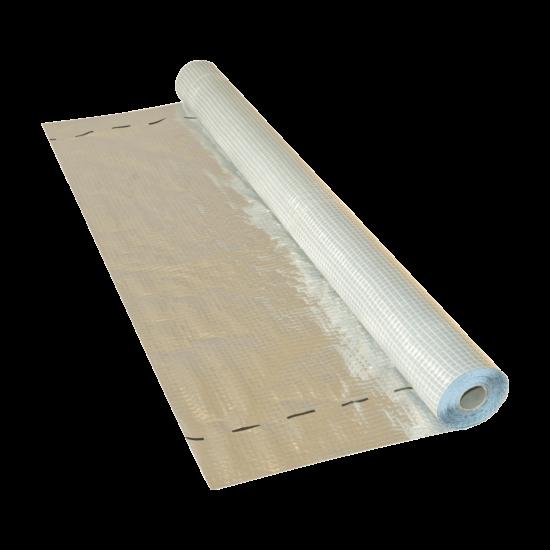 Masterplast Soft Alu hőtükrös párazáró fólia 75m2/tekercs