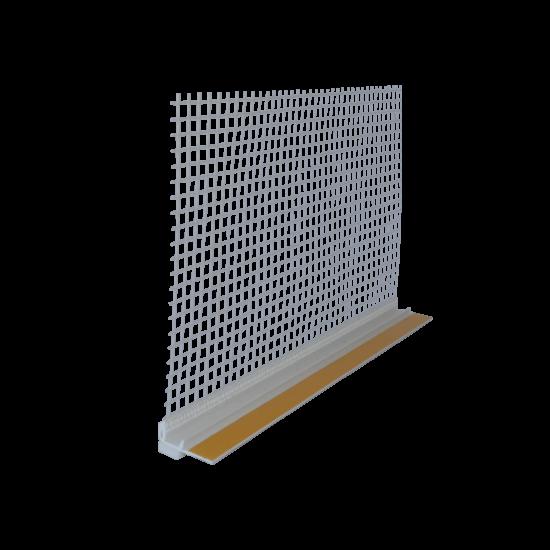 Thermomaster W-PROF hálós nyílászáró csatlakozó profil 2,5 fm/szál