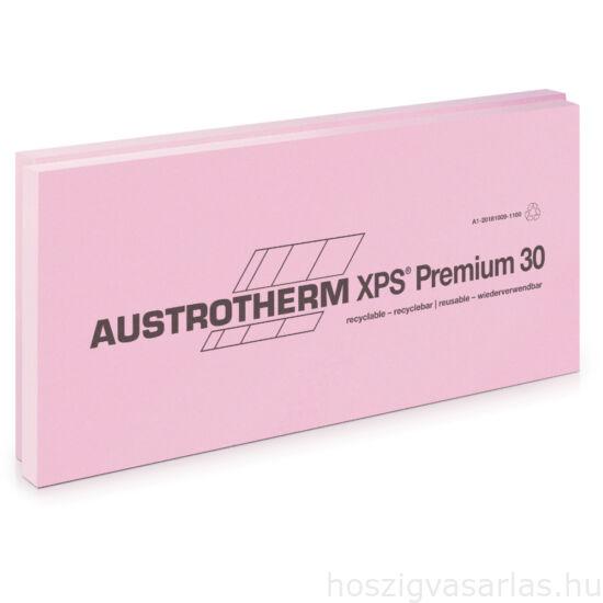 Austrotherm XPS PREMIUM 30 SF sima felülettel, lépcsős élképzéssel --4 cm