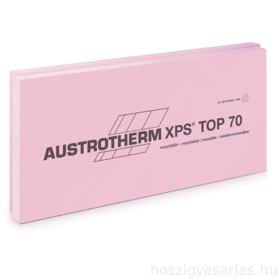 Austrotherm XPS TOP 50 SF sima felülettel, lépcsős élképzéssel --5 cm
